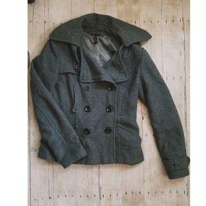 Topshop Wool Coat